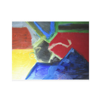 Fold Zandura Canvas Print