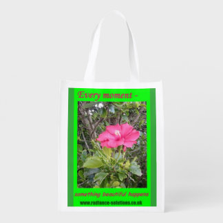 Foldaway Re-useable Bag Flower Philosophy Inspired
