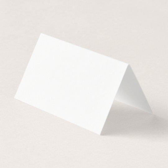 Custom Horizontal Tent Fold Folded Card