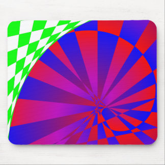 Folded Dimensions by Kenneth Yoncich Mouse Pad