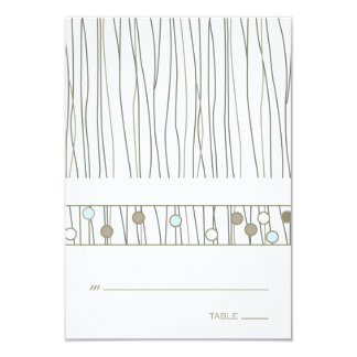 Folded Table Place Card