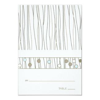 Folded Table Place Card 9 Cm X 13 Cm Invitation Card