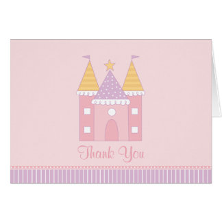 Folded Thank You Note Card | Princess Castle
