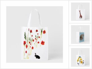 Folding Bags with Animals and Wildlife