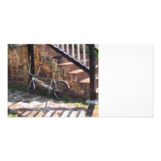 Folding Bicycle Antigua Custom Photo Card