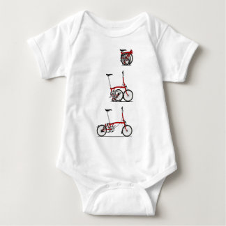Folding Bike Baby Bodysuit