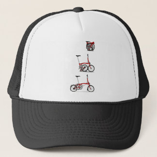 Folding Bike Trucker Hat