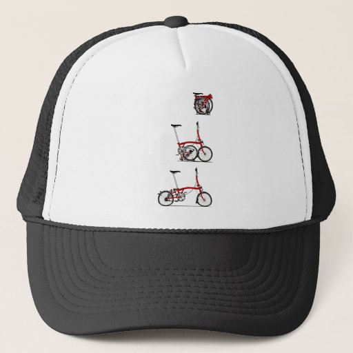 'Folding Bike Trucker Hat