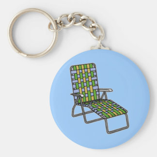 Folding Lawn Chair 2 Key Chain