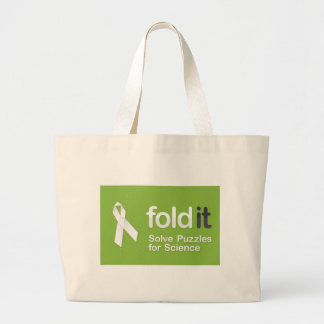 Foldit Tote Canvas Bag