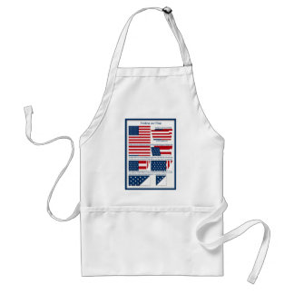 Folds of the Flag Standard Apron