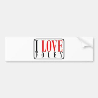 Foley Alabama Bumper Sticker