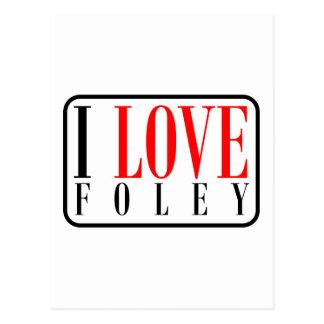 Foley Alabama Postcard