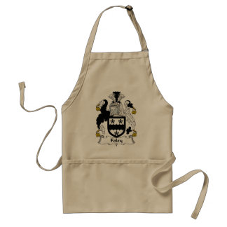 Foley Family Crest Standard Apron