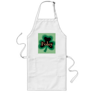 Foley Family Name Long Apron