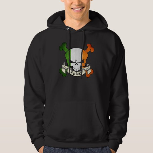 Foley Irish Skull Hoodie