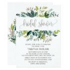 Foliage Bridal Shower Card