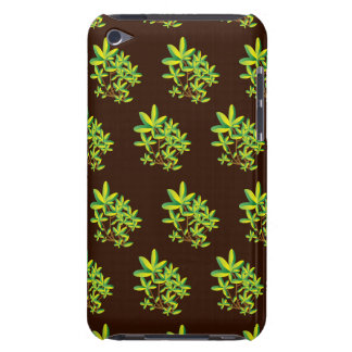 foliage brown barely there iPod covers