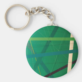 Foliage Criss Cross Key Ring