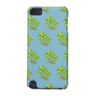foliage light blue iPod touch 5G case
