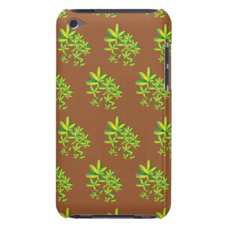 foliage light brown barely there iPod case