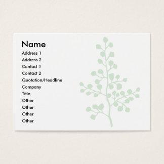 Foliage No. 3 | Business Card