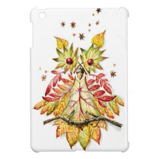 Foliage owl cover for the iPad mini