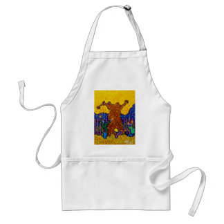 Foliage Play by Piliero Adult Apron