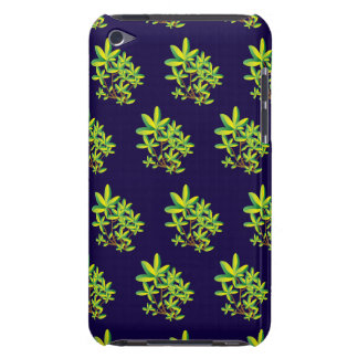 foliage purple barely there iPod cases