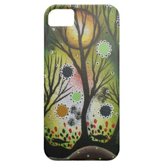 Folk Art_By Lori Everett, Day Of The Dead,Tree Art iPhone 5 Cover