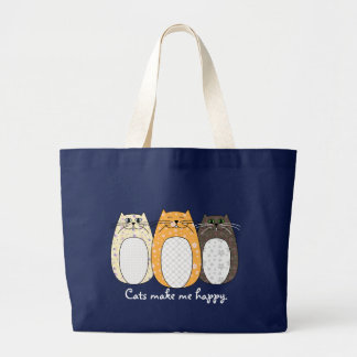 'Folk Art Cats' Bag