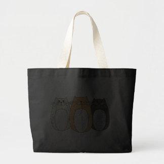 'Folk Art Cats' Bag