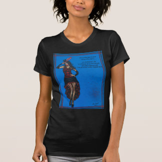 FOLK ART, Cute Lady, BY LORI EVERETT T-Shirt