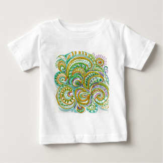 Folk Art Fantasy Pattern Baby T-Shirt