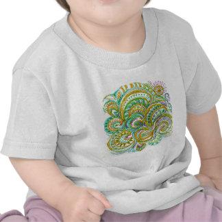 Folk Art Fantasy Pattern Shirts