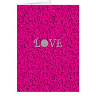 Folk Art Love Card