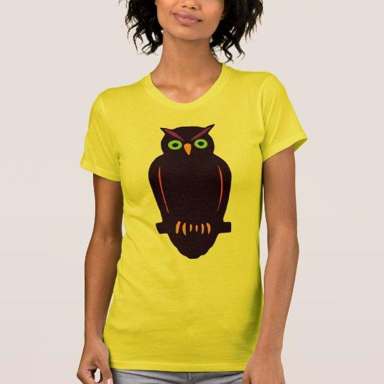 Folk Art Owl T-Shirt