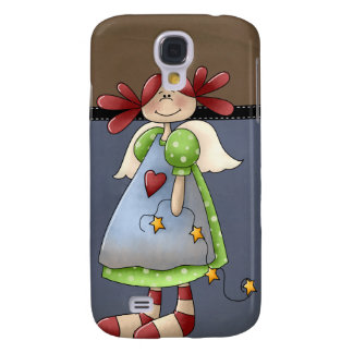 Folk Art Raggedy Doll HTC Vivid / Raider 4G Cover