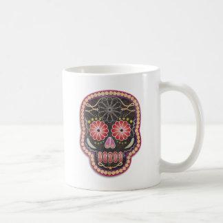 Folk Art Skull - day of the dead Coffee Mug