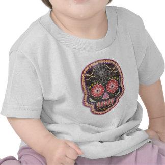 Folk Art Skull - day of the dead Shirts