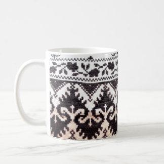 folk costume background texture seam stitch mugs