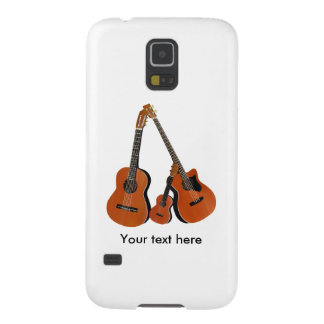 Folk Guitar Acoustic Bass and Ukulele Galaxy S5 Covers