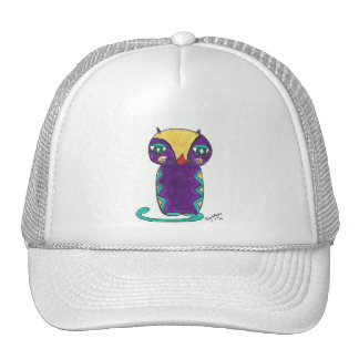 folk kitty Trucker Hat
