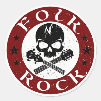 Folk N' Rock Stickers