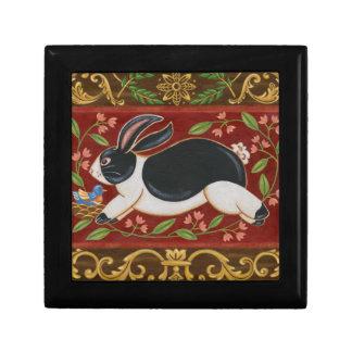 Folk Rabbit Gift Box