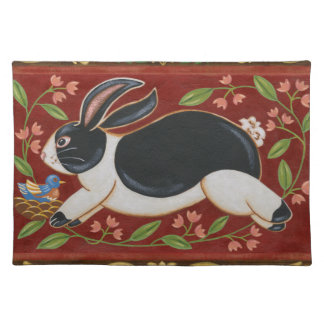 Folk Rabbit Placemat