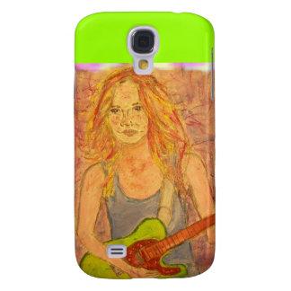 folk rock girl art galaxy s4 case