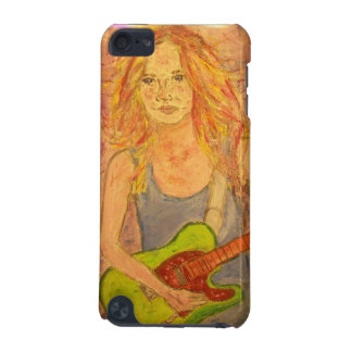 folk rock girl art iPod touch (5th generation) cover