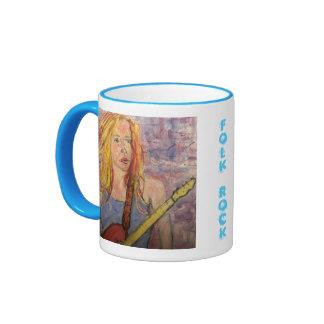 folk rock girl reflections ringer mug