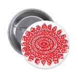 Folk Theme Pinback Buttons